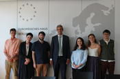 Visit of the Representation of the European Commission in Germany
